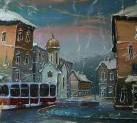 Зимний трамвай